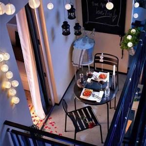 7. Романтика на свещи