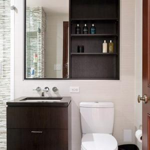 Правилната комбинация от цветове за малка баня