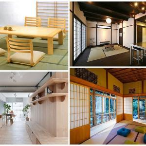 Ниски мебели в модерната японска кухня