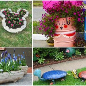 Пчерпете вдъхновение за фантастична декорация в градината