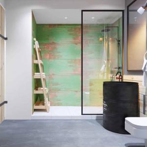 Артистичност, внесена в баня в спа-стил
