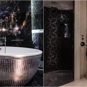 Космически блясък в банята