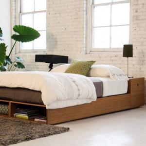 Легло с открити шкафчета