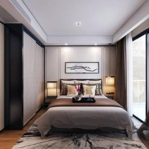 Балансирана спалня в китайски стил