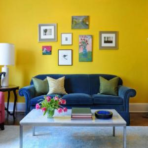 Жълт цвят - носителят на равновесието