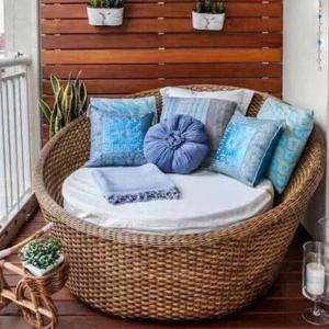 Ратаново кресло повишава нивото на комфорт