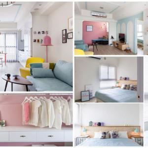 Не просто дом, а истинска приказка - вдъхновяващ апартамент с невероятни пастелни нюанси