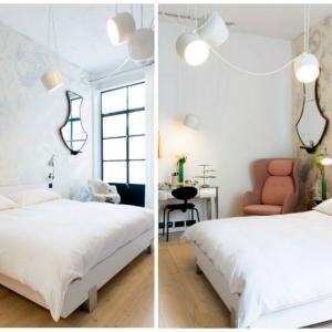 Спалнята - непретенциозна, но романтична