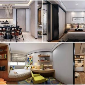 Традицията среща съвремието в модерен апартамент в китайски стил