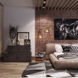 Интериор на спалня, създаден чрез вдъхновението на личността