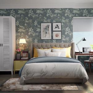 Уютна спалня в свеж винтидж стил