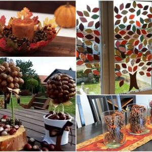С повече въображение сами ще сътворите есенни чудеса