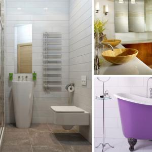 10 съвета за шикозни и функционални малки бани