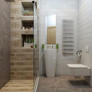 Използвайте умно архитектурните чудатости в банята