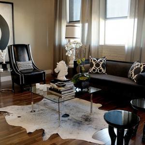 Съобразете типа килим с подовата настилка