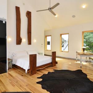 Уютна спалня в африкански стил за ценителите на пълното спокойствие