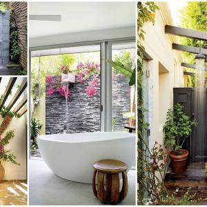 Външни душове – лятна свежест в двора