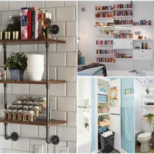 Мултифункционални етажерки, които ще преобразят малкото пространство у дома