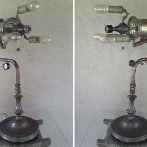 Лампа от стари чаркове