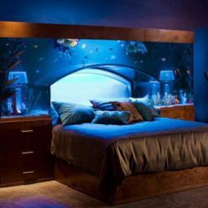 Спалня, подчинена на морска магия
