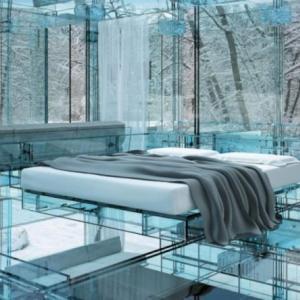 Спалня от стъкло?