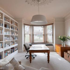 Впечатляващи домашни библиотеки подходящи за малки пространства