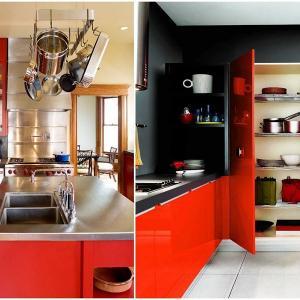 Темпераментно червено властва в кухнята!