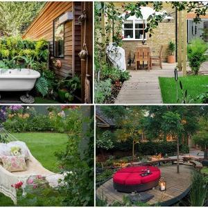 Изберете най-подходящия стил, в който да преобразите градината