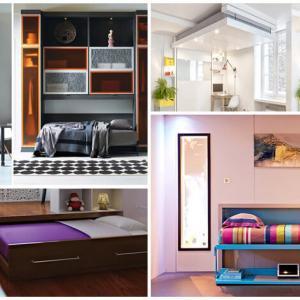 Сгъваеми легла - идеалното решение за малка спалня