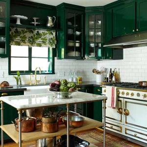 Създайте стилна кухня в земни тонове