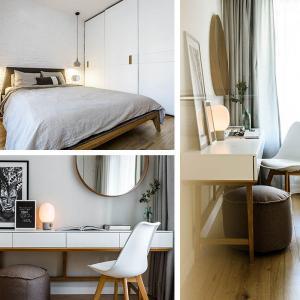 Модерна спалня с изчистен дизайн