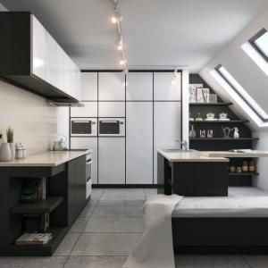 Заложете на минималистичен облик за кухненския модул