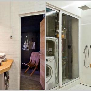 Уют и непринуденост се обединяват в банята