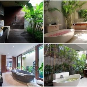 Пренесете тропиците в банята
