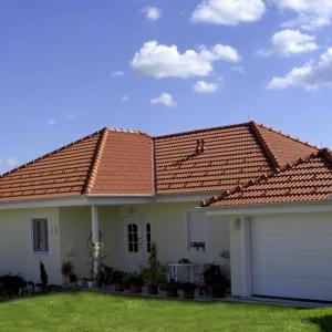 Предимства на скатния покрив