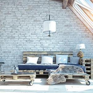 Удобно и стилно таванско обзавеждане с палети