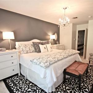 Модерен интериор в спалнята