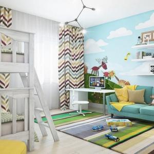 5 идеи за вмъкване на образователни елементи в декорацията на стената на детската стая