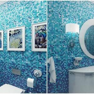Дизайн с мозайка и морско вдъхновение