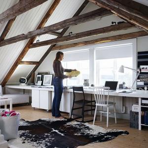 Превърнете мансардата в удобен и вдъхновяващ офис