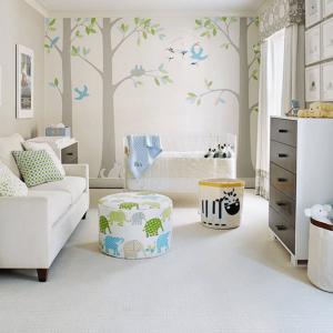 Хармонична бебешка стая, вдъхновена от природата