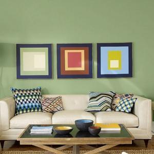Кои са модерните цветове в дневната през това лято