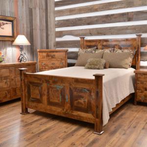 Придайте рустик нотка на старото обзавеждане в спалнята