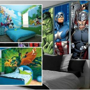 Любимите герои – детето ще се радва да са част от интериорния дизайн на стаята му!