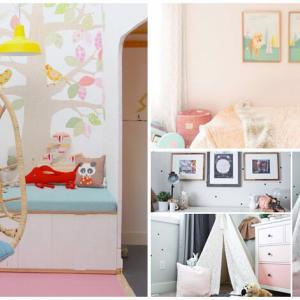 Детски стаи в пастелни цветове, от които да почерпите вдъхновение