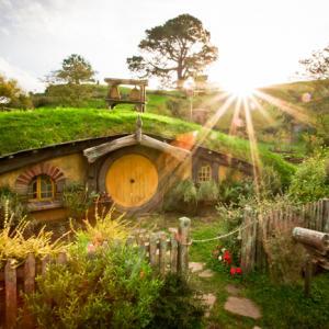 Хобит къщите са природосъобразни