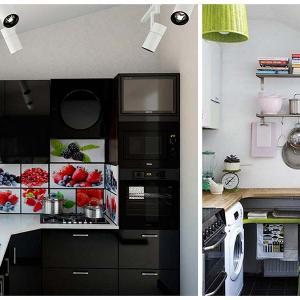 Кухня, изцяло изведена на терасата