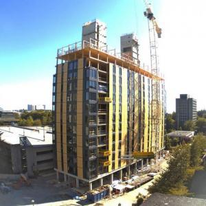 Изграден дървен гигант във Ванкувър