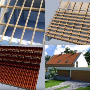 Външно топлоизолиране на подпокривното пространство