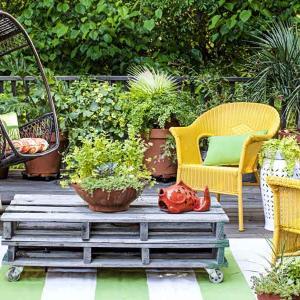 Вдъхновение и идеи за малка градина